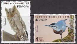 Turkey, Fauna, Birds, EUROPA MNH / 2019 - Birds