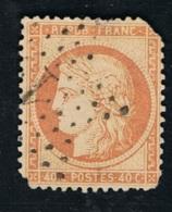 1870 9. Dez. Bordeux Ausgabe Mi FR 43 Yt FR 48 Gezähnt Beschädigung An Den Ecken S. Scan - 1870 Besetzung Von Paris