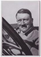 DT- Reich (000408) Propaganda Sammelbild Adolf Hitler Bild 4, Auf Seinen Reisen Durch Deutschland Bevorzugt Der Führer - Deutschland