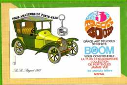 BUVARD & Blotting Paper : Produits Laitiers  STENDAL  BOOM Peugeot 1913 - Produits Laitiers