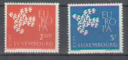 Luxembourg 1961; Europa Cept, Michel 647-648.** (MNH) - Europa-CEPT