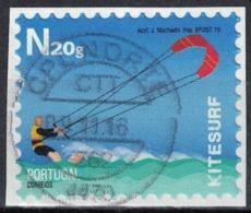 Portugal 2015 Oblitéré Sur Fragment Used Sports Extrêmes Kitesurf - 1910-... République