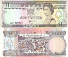 FIJI 1 Dollar ND ( 1989 )   P 89 UNC - Fiji