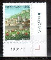 Monaco 2017 EUROPA ** - 2017