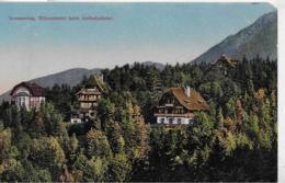 AK 0330  Semmering - Villenviertel Beim Südbahnhotel / Verlag Frank Um 1921 - Semmering