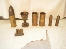 Objets De Tranchée Briquets Coquetier Etc.... Voir Les Photos - 1914-18