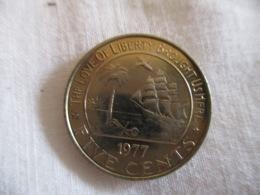 Liberia 5 Cents 1977 - Liberia