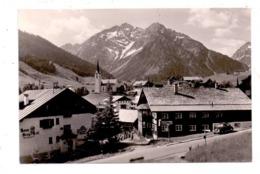 """A 6991 HIRSCHEGG, Dorfpartie, """"Zum Adler"""" - Kleinwalsertal"""