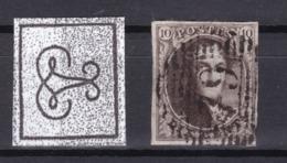N° 3 Margé Petits Défauts : 79 MARCHE COBA +40.00  (pli De Coin Sup Gauche Et Petite Entaille Milieu Bord Sup. ) - 1849-1850 Medaillen (3/5)