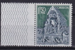 Spanien: 1968. Mi: 1767, Avila : Grabmal Der Märtyrer In Der Basilika San Vicente - Eglises Et Cathédrales