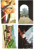 Guatemala - 4 Cards - Chichicastenango - Church - Native Indians - Old Views - Guatemala