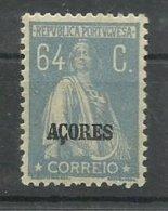 AÇORES CE AFINSA 207 - NOVO COM CHARNEIRA - Azores