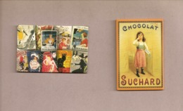 Magnets. Magnets Métallique. Chocolat Suchard + Multi-marques (Bourjois, Confetti, Casino De Paris, Etc..)  (lot De 2) - Advertising