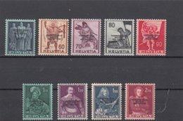Suisse - 1944 - Neuf** - N° YT 215/23  - SDN Courrier De La SDN - Servizio