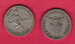 PHILIPPINES  5 CENTAVOS 1932 (KM # 175) #5435 - Philippines