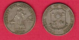 PHILIPPINES  25 CENTAVOS 1966 (KM # 189.1) #5438 - Philippinen