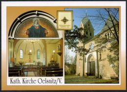 C8496 - TOP Oelsnitz Kirche - Bild Und Heimat Reichenbach - Oelsnitz I. Vogtl.