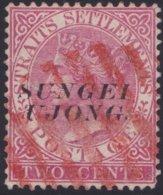 Sungei Ujong    .   SG     .    44  (2 Scans)   .      O         .     Cancelled      .   /    .  Gebruikt - Gran Bretaña (antiguas Colonias Y Protectorados)
