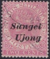 Sungei Ujong    .   SG     .    37  (2 Scans)   .      O         .     Cancelled      .   /    .  Gebruikt - Gran Bretaña (antiguas Colonias Y Protectorados)