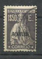 AÇORES CE AFINSA 198 - USADO - Azores