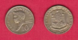 PHILIPPINES  10 SENTIMOS 1971 (KM # 198) #5444 - Philippines