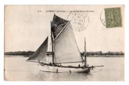 (33) 523, Lormont, AH, Les Bords De La Garonne, Bateau G1933 - Frankrijk