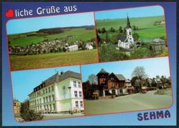 C8522 - TOP Sehma Schule Kirche - Bild Und Heimat Reichenbach - Sehmatal