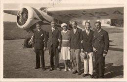 Aviation - Aviatrice Miss Margery Durant Devant Son Lokheed-Vega - Lausanne-Blécherette - Rarissime - Aviadores