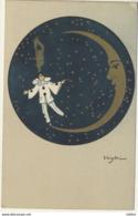 ART NOUVEAU BALLERINI FRATINI CHIOSTRI Pierrot Lune - Illustratori & Fotografie