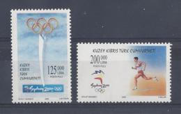 """CYPRUS..."""" TURKISH """"...QUEEN ELIZABETH II.(1952-NOW)."""" 2000."""".....SYDNEY OLYMPICS........MNH.. - Summer 2000: Sydney"""