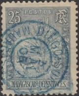Madagascar 1889-1906 - Diego-Suarez Sur N° 70 (YT) N° 65 (AM). Oblitération. - Madagascar (1889-1960)