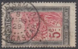 Madagascar 1908-1939 - Mutsamudu Sur N° 131 (YT) N° 129 (AM). Oblitération De 1929. - Madagascar (1889-1960)