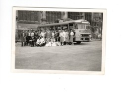 EVREUX - Troupe St Hubert De URUFFE (54) - Autocar CHAUSSON - 1956 - Lieux