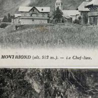 ↂ 74 MONTRIOND CHEF-LIEU CASCADE D'ARDENT 1911 LOT CARTE POSTALE ANCIENNE RARE CPA HAUTE-SAVOIE ALPES ANZEMBERGER LYON - Morzine