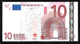 "Greece  ""Y"" 10  EURO  UNC! Duisenberg Signature!!  ""Y""   Printer  N001G1 ! - 10 Euro"