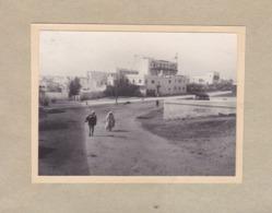 RABAT MAROC Hôtel TRANSAT 1921 Photo Amateur Format Environ 7,5 Cm X 5,5 Cm - Luoghi