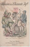 """CPA Illustrateur Willette - Semaine De La Charente Inférieure 1917 """"Veux-tu Bien Te Sauver Phylloxera"""" - Wilette"""
