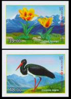 2017Kyrgyzstan 887-888bFlora And Fauna Of Kyrgyzstan - Albatrosse & Sturmvögel