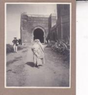 RABAT MAROC KASIAH DES OUDAIA 1921 Photo Amateur Format Environ 7,5 Cm X 5,5 Cm - Luoghi