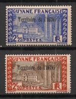 Inini - 1939 - N°Yv. 46 - 47 - Cayenne 2f25 / 2f50 - Neuf Luxe ** / MNH / Postfrisch - Inini (1932-1947)
