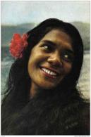 Carte Postale Polynésie Française Tahiti   Beauté Tahitienne  Trés Beau Plan - Tahiti