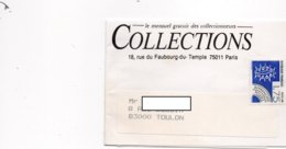 YT Préo 199 - Sur Bande Journaux - Entête - COLLECTIONS à PARIS - Journaux