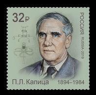 Russia 2019 Mih. 2699 Physicist Pyotr Kapitsa MNH ** - Unused Stamps