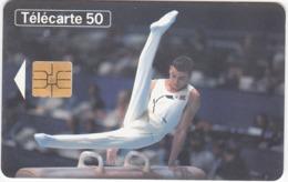 TC124 TÉLÉCARTE 50 UNITÉS - VIème INTERNATIONAUX DE FRANCE DE GYMNASTIQUE - PARIS BERCY 18 ET 19 MARS 1995 - Sport
