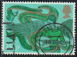 GB 1975 Yv. N°771 - Noël - 8p1/2 Anges Musiciens - Oblitéré - 1952-.... (Elizabeth II)