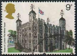 GB 1978 Yv. N°859 - La Tour De Londres - Oblitéré - 1952-.... (Elizabeth II)