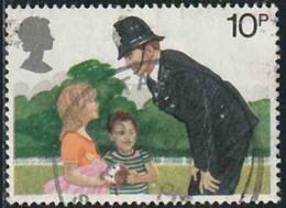GB 1979 Yv. N°913 - 10p Agent De Police - Oblitéré - 1952-.... (Elizabeth II)
