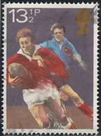 GB 1980 Yv. N°956 - 13p1/2 Rugby, France-Pays De Galles - Oblitéré - 1952-.... (Elizabeth II)