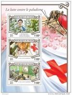 NIGER 2015 - Malaria, Artemisia Annua - YT 2899-2901, Mi 3582-4 - Medicinal Plants