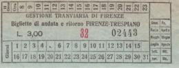 ** GESTIONE TRANVIARIA DI FIRENZE.-** - Mondo